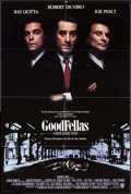 "Movie Posters:Crime, Goodfellas (Warner Brothers, 1990). One Sheet (27"" X 40.25"") SS. Crime.. ..."