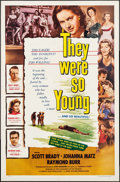"""Movie Posters:Thriller, They Were So Young & Others Lot (Lippert, 1954). One Sheets (3) (27"""" X 41""""). Thriller.. ... (Total: 3 Items)"""