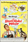 """Movie Posters:Comedy, The Absent-Minded Professor & Other Lot (Buena Vista, R-1967). One Sheets (2) (27"""" X 41""""). Comedy.. ... (Total: 2 Items)"""