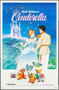 """Movie Posters:Animation, Cinderella & Others Lot (Buena Vista, R-1981). One Sheets (3)(27"""" X 41""""). Animation.. ... (Total: 3 Items)"""