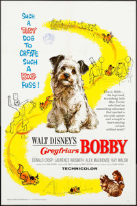"""Greyfriars Bobby: The True Story of a Dog & Others Lot (Buena Vista, 1961). One Sheets (3) (27"""" X 41"""")..."""