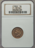 Proof Indian Cents, 1859 1C PR64 NGC....