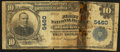 National Bank Notes:Oklahoma, Blackwell, OK - $10 1902 Plain Back Fr. 633 The First NB Ch. # 5460. ...