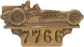Miscellaneous Collectibles:General, 1959 Indianapolis 500 Bronze Badge. ...