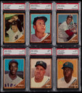 Baseball Cards:Sets, 1962 Topps Baseball Complete Set (598) Plus Eight Variations. ...