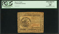 Colonial Notes:Continental Congress Issues, Continental Currency May 9, 1776 $5 PCGS Apparent Very Fine 20.....