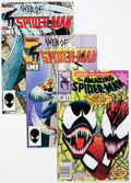 Modern Age (1980-Present):Superhero, Spider-Man Titles Box Lot (Marvel, 1980s-90s) Condition: AverageVF/NM....