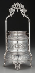 Silver Holloware, American, A Reed & Barton Aesthetic Movement Silver-Plated Jewelry Case, Taunton, Massachusetts, circa 1880. Marks: MFD. & PLATED, R...