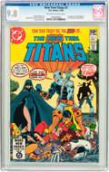 Modern Age (1980-Present):Superhero, New Teen Titans #2 (DC, 1980) CGC NM/MT 9.8 Off-white to whitepages....