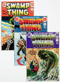 Bronze Age (1970-1979):Horror, Swamp Thing #1-10 Autographed Group (DC, 1972-73).... (Total: 10Comic Books)