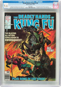 Magazines:Superhero, The Deadly Hands of Kung Fu #30 (Marvel, 1976) CGC NM+ 9.6 Whitepages....