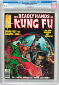 Magazines:Miscellaneous, The Deadly Hands of Kung Fu #29 (Marvel, 1976) CGC NM+ 9.6 White pages....