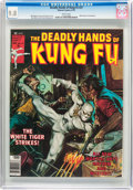 Magazines:Superhero, The Deadly Hands of Kung Fu #27 (Marvel, 1976) CGC NM/MT 9.8 Whitepages....