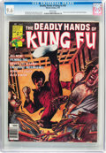 Magazines:Superhero, The Deadly Hands of Kung Fu #26 (Marvel, 1976) CGC NM+ 9.6 Whitepages....