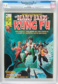 Magazines:Superhero, The Deadly Hands of Kung Fu #16 (Marvel, 1975) CGC NM/MT 9.8 White pages....