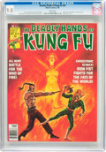 Magazines:Miscellaneous, The Deadly Hands of Kung Fu #24 (Marvel, 1976) CGC NM/MT 9.8 White pages....