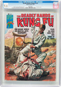 Magazines:Superhero, The Deadly Hands of Kung Fu #21 (Marvel, 1976) CGC NM+ 9.6 White pages....