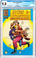 Modern Age (1980-Present):Superhero, Archer & Armstrong #0 Gold Logo Edition (Valiant, 1992) CGCNM/MT 9.8 White pages....