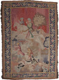 Decorative Arts, Continental:Other , A Pair of Continental Tapestries: Boar Hunt, 19th century.78 inches high x 58 inches wide (198.1 x 147.3 cm)... (Total: 2Items)