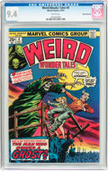 Bronze Age (1970-1979):Horror, Weird Wonder Tales #6 White Mountain Pedigree (Marvel, 1974) CGC NM9.4 White pages....