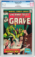 Bronze Age (1970-1979):Horror, Uncanny Tales #9 White Mountain Pedigree (Marvel, 1975) CGC NM- 9.2White pages....