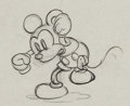 Animation Art:Production Drawing, The Mad Doctor Mickey Mouse Production Drawing (Disney,1933). ...