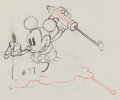 Animation Art:Production Drawing, Mickey's Garden Production Drawing (Walt Disney, 1935)....