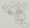 Animation Art:Production Drawing, Mickey's Amateurs Mickey Mouse Production Drawing (Walt Disney, 1937)....