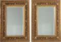 Decorative Arts, French:Other , A Pair of French Carved Giltwood Mirror Frames, 19th century.37-1/2 h x 27-3/4 w inches (95.3 x 70.5 cm). ... (Total: 2 Items)