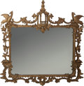 Decorative Arts, British:Other , An English Chippendale-Style Carved Giltwood Mirror, early 20thcentury. 48 inches high x 49 inches wide (121.9 x 124.5 cm)...