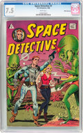 Silver Age (1956-1969):Science Fiction, Space Detective #1 White Mountain Pedigree (I. W. Enterprises,1958) CGC VF- 7.5 White pages....