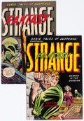 Golden Age (1938-1955):Horror, Strange Fantasy #4 and 6 Group (Farrell, 1953).... (Total: 2 ComicBooks)