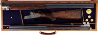 Cased Merkel 303EL Best Exclusive Two Barrel Pigeon Set Sidelock Over and Under Shotgun