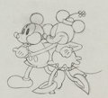 Animation Art:Production Drawing, The Pet Store Mickey and Minnie Mouse Production Drawing(Walt Disney, 1933)....