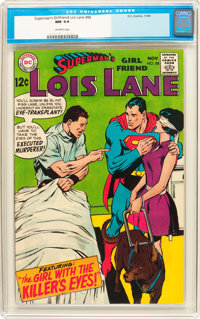 Superman's Girlfriend Lois Lane #88 (DC, 1968) CGC NM 9.4 Off-white pages