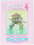 Modern Age (1980-Present):Science Fiction, Moebius #4 Signed Copy (Marvel/Epic Comics, 1987) Condition: NM....