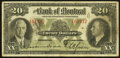 Canadian Currency: , Montreal, PQ- The Bank of Montreal $20 Jan. 2, 1935 Ch. #505-60-06. ...