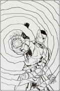Original Comic Art:Covers, Garry Brown Iron Patriot #1 Cover Original Art (Marvel,2014)....