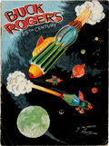 Platinum Age (1897-1937):Miscellaneous, Buck Rogers in the 25th Century #370A (without envelope) (Kellogg Company, 1933) Condition: GD/VG....