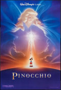 """Movie Posters:Animation, Pinocchio (Buena Vista, R-1992). One Sheets (2) (27"""" X 40"""") DS Regular & Advance. Animation.. ... (Total: 2 Items)"""