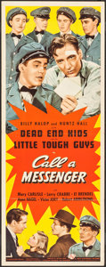 "Movie Posters:Crime, Call a Messenger (Universal, 1939). Insert (14"" X 36""). Crime.. ..."