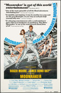"""Movie Posters:James Bond, Moonraker (United Artists, 1979). One Sheet (27"""" X 41"""") Review Style. James Bond.. ..."""
