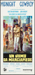 "Movie Posters:Academy Award Winners, Midnight Cowboy (United Artists, 1969). Italian Locandina (13"" X 27.5""). Academy Award Winners.. ..."