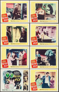 "Movie Posters:Science Fiction, Return of the Fly (20th Century Fox, 1959). Lobby Card Set of 8(11"" X 14""). Science Fiction.. ... (Total: 8 Items)"