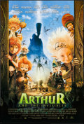 """Movie Posters:Animation, Arthur and the Invisibles (MGM, 2006). Autographed One Sheet (27"""" X 40"""") DS. Animation.. ..."""