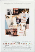 "Movie Posters:Drama, Breaking and Entering (Weinstein, 2006). Autographed One Sheet (27"" X 40"") SS. Drama.. ..."