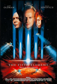 """The Fifth Element & Others Lot (Columbia, 1997). One Sheets (4) (26.75"""" X 39.75"""") DS. Science Fiction..."""