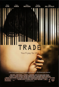 """Trade (Roadside Attractions, 2007). One Sheets (19) Identical (27"""" X 40"""") SS. Drama. ... (Total: 19 Items)"""