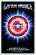 "Movie Posters:Action, Captain America (Columbia/Tristar, 1991). One Sheets (5) (27"" X41"") Advance. Action.. ... (Total: 5 Items)"