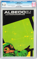 Modern Age (1980-Present):Miscellaneous, Albedo #3 (Thoughts and Images, 1985) CGC NM- 9.2 White pages....